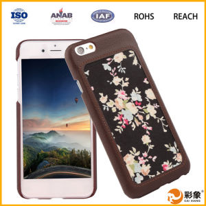 High Quality Smart Mobile Custom PU Cover for iPhone