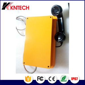 Heavy Duty Telephones Auto Dial Phone Tunnel Phone Knsp-10 Kntech pictures & photos