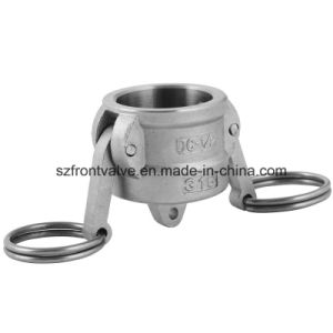 Investment Casting Stainless Steel Screwed Cam Lock-Type DC Dust Cap pictures & photos