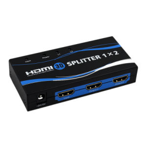 High Quality Original 1 in 2 out 1X2 HDMI Splitter with 3D 1080P pictures & photos