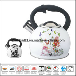 Color Change Stainless Steel Whistle Kettle pictures & photos