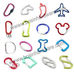 Metal Aluminum Quick Spring Karabiner pictures & photos