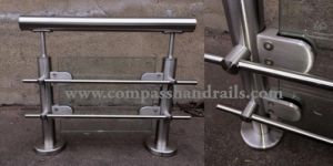 Stainless Steel Square Pipe Railing for Stair/Balcony pictures & photos