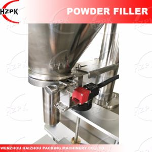 Semi-Auto Powder Filling Machine/Podwer Filler with Balance pictures & photos