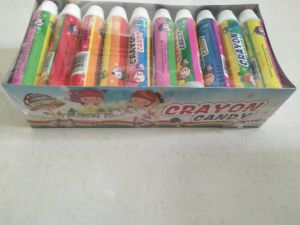 10g Colorful Crayon Chocolate