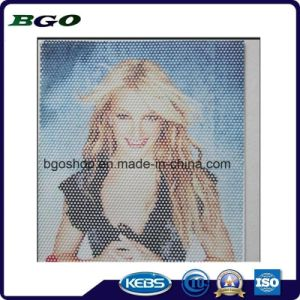 One Way Vision Perforative Film Digital Printing Vinyl (160mic film 180g release paper) pictures & photos