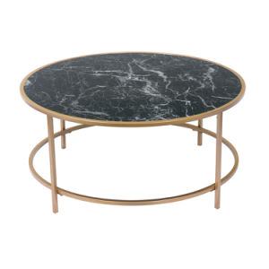 Living Room Modern Furniture Round Marble Coffee Table