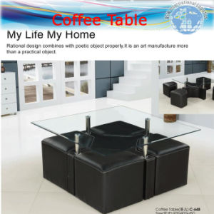 Tempered Glass Tables, Office Tables, Coffee Table (sea freight) pictures & photos
