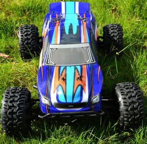 Toy Electric RC Car, 1: 10 Truck, 4WD Brushed