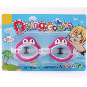 Plastic Summer Toy Cartoon Animal Diving Kids Swimming Goggles