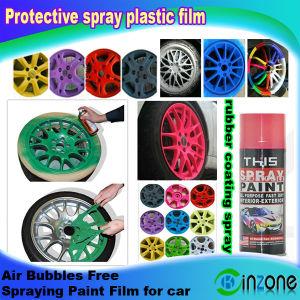 China Protective Spray Plastic Film/Spraying Film/Car Care