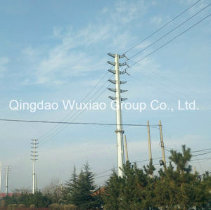 Power Transmission Steel Pipe Monopole Tower pictures & photos