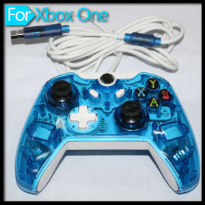 New Game Accessories for xBox One Transparent Wired Controller