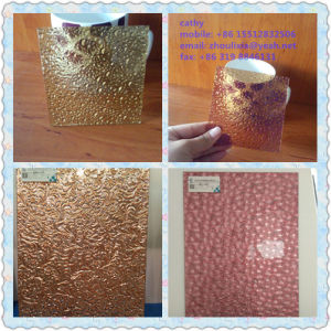 Nano Patterned Glass/ Rolled Glass/ Figured Glass/ Embossed Glass pictures & photos