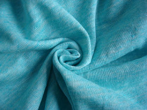 Linen Cotton Heather Single Jersey Fabric pictures & photos