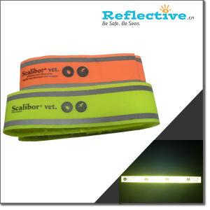 Reflective Veclor Armband with Bright Yellow /Orange Colors pictures & photos