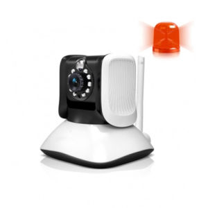 Human Infrared Ray Detection Alarm Wireless IP Camera