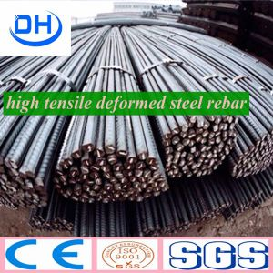 Hot Rolled Galvanized Deformed Steel Rebar From China Tanshan pictures & photos