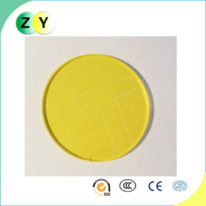 Square Yellow Filter, Optical Glass, Precision Components, Jb400
