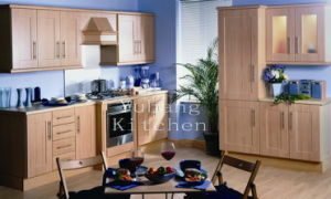 Solid Wood Kitchen Cabinet #234 pictures & photos