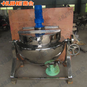 Gas Heating Jacketed Cooking Pot (JK) pictures & photos