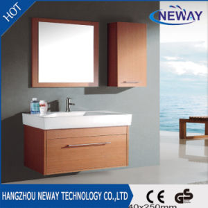 Simple Wall Melamine with Side Cabinet Bathroom Cabinet pictures & photos