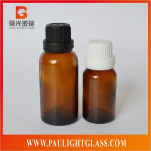 Amber Glass Bottle 10ml 20ml 30ml 50ml 100ml