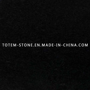 Natural Stone Absolute Black Granite for Flooring Tile, Countertop, Slab