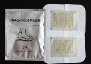 Natural OEM Bamboo Detox Foot Pad Patches with 2in1 Version