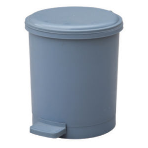 Household Small Plastic Pedal Bins/Trash Can (10L)