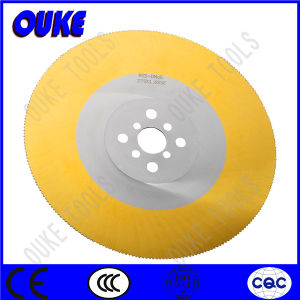 Tin Coated HSS Dmo5 Saw Blade for Cutting Stainless Steel