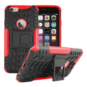 Protective Stand Combo Mobile Cell Phone Case for iPhone 6 Plus