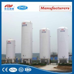 Liquid Carbon Dioxide Vertical ASME Certificated Cryogenic Storage Tank