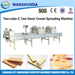 Wafer Sheet Cream Spreading Machine of Production Line