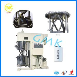 Li-Thium Machine 100L Anode Battery Paste Mixing Double Planetary Disperser Mixer pictures & photos