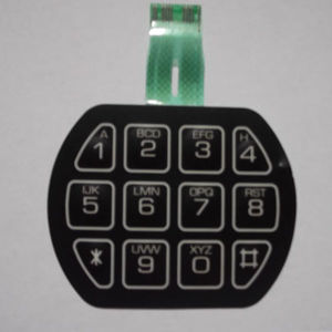 Telecommunication Equipment Application and Silicone Keypad Button Material Membrane Keypad pictures & photos