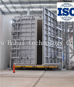 Trolly Type Split Gas Heat Treatment furnace with Variable Capacity