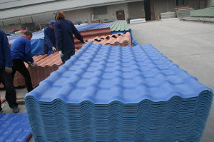 Composite Resin Plastic Royal 1040 Style Roof Tile pictures & photos