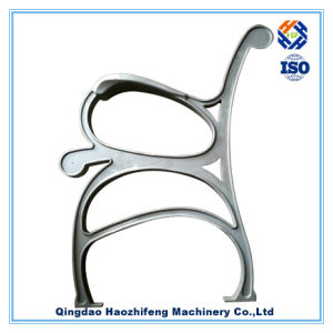 Aluminum Sand Casting Part for Garden Furniture Bench End pictures & photos
