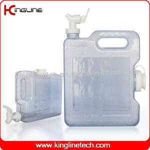 3L Slim Freezer Water Tank Wholesale BPA Free with Spigot (KL-8011) pictures & photos