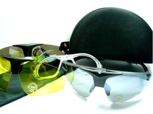 Tactical Paintball protective Glasses SnowMobile Motorcycle Ski Exchangeable Lens