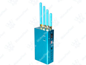 High Power Handheld Signal Jammer GPS Anti-Tracking Blocker pictures & photos