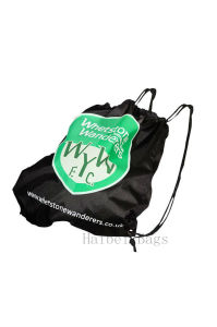 RPET Drawstring Bag for Football Club (hbrp-5) pictures & photos
