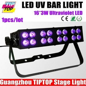 16PCS*3W LED UV Bar Stage Light