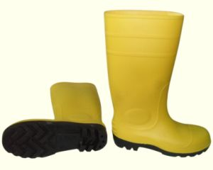 PVC Rainboots (SG-204) pictures & photos