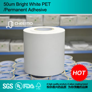 White Pet Self Adhesive Label Materials