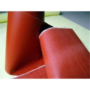 Fireproofing Fiberglass Woven Fabric with Silicone Rubber Coating