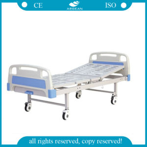 AG-BYS204 CE approved 1-Crank Manual Hospital Bed pictures & photos