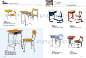 Factory Cuztomized School Furniture Student Desk Chair pictures & photos