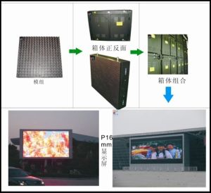 P16 Full Color Outdoor LED Display Screen